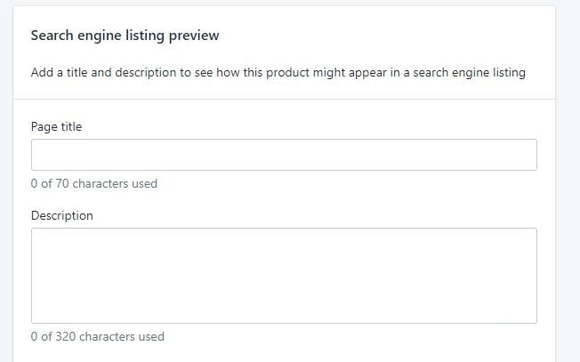 Shopify On-Page Seo