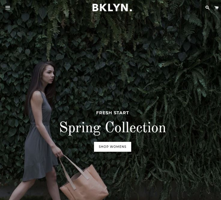 Brooklyn Theme Shopify