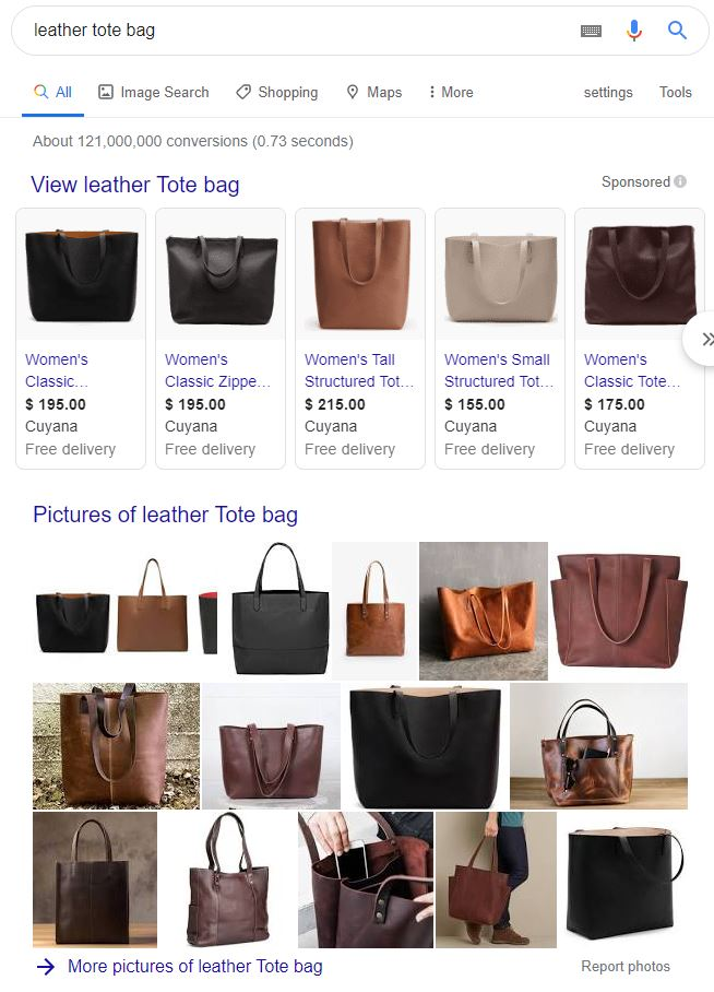 Images in Google Search