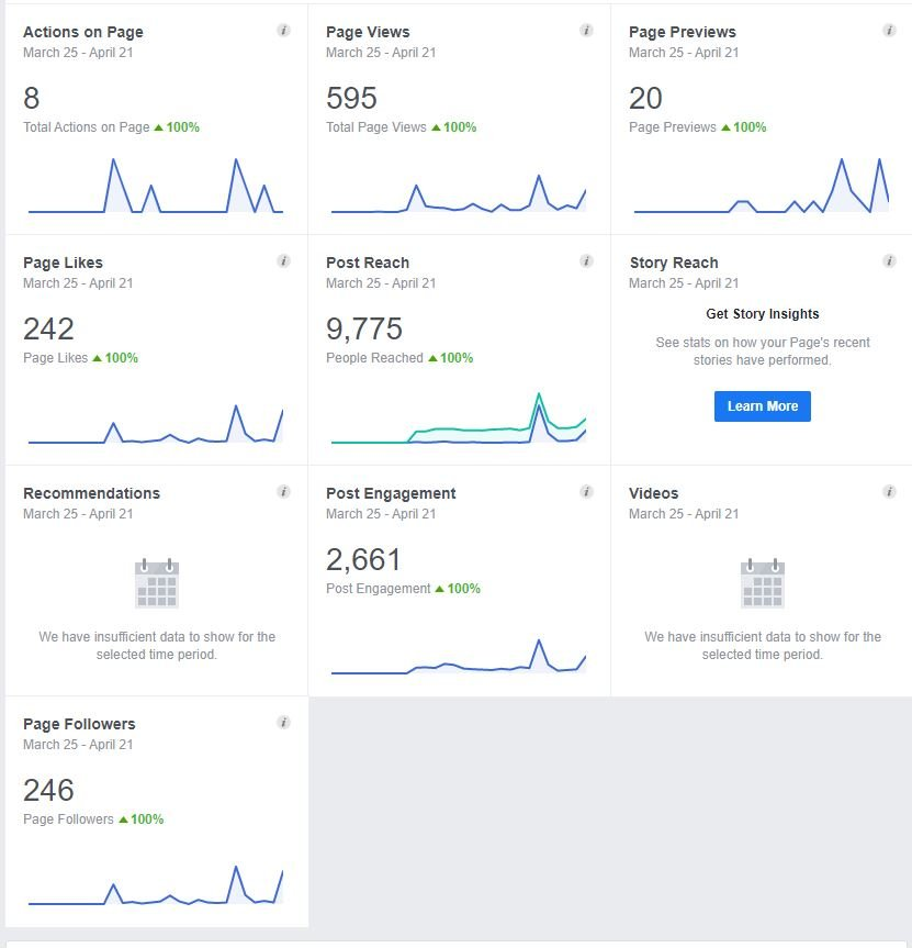 Facebook Page Insights Social Media Marketing Analytics