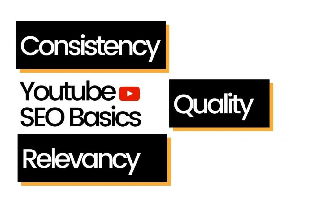 Youtube SEO Basics is Consistency, Quality, And Relevancy