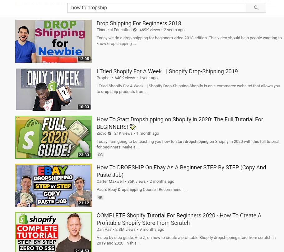 Youtube SEO Search Intent Match Keyword With Viewer Intent