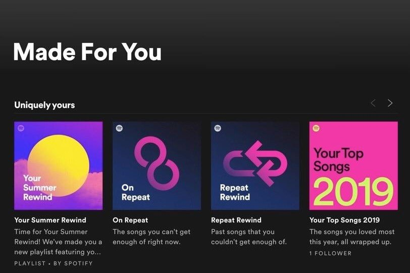 Algorithm-based Playlists Spotify