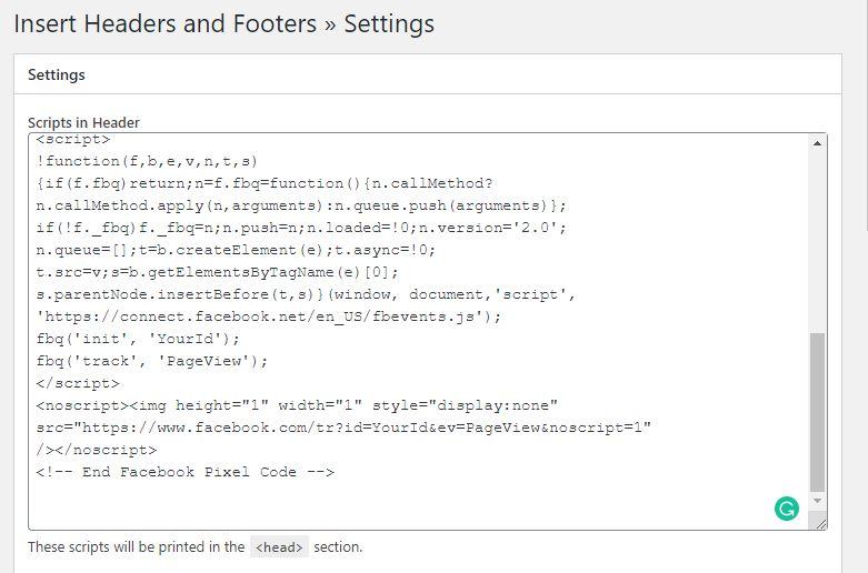 Installing Facebook Pixel in Woocommerce WordPress With Plugin