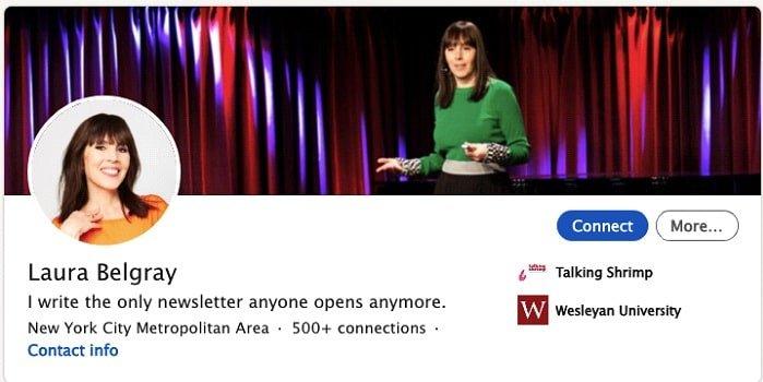 One-liner As LinkedIn Profile Headline